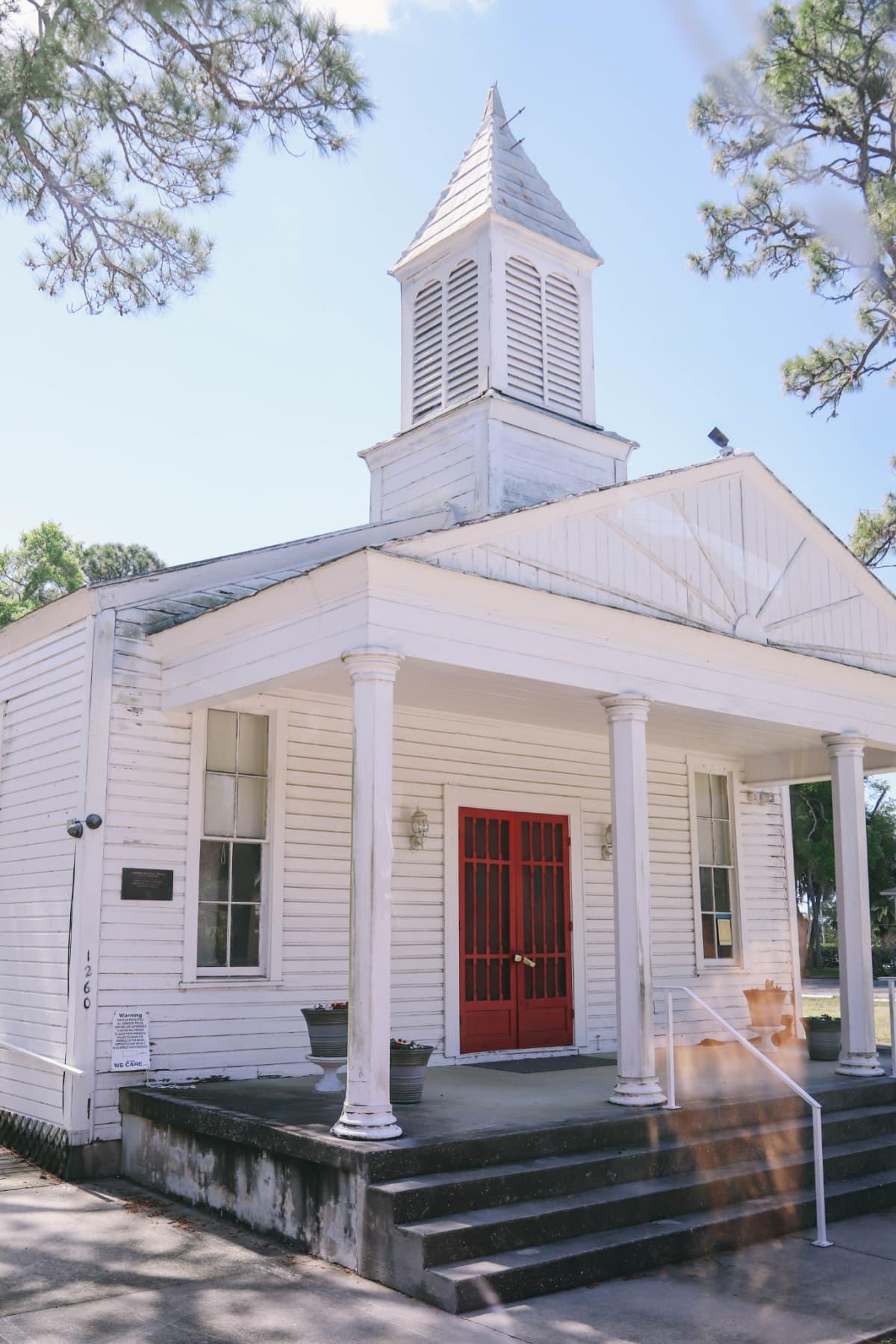 Historic church in Sarasota