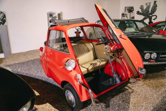 Unusual car at the Sarasota Classic Car Museum