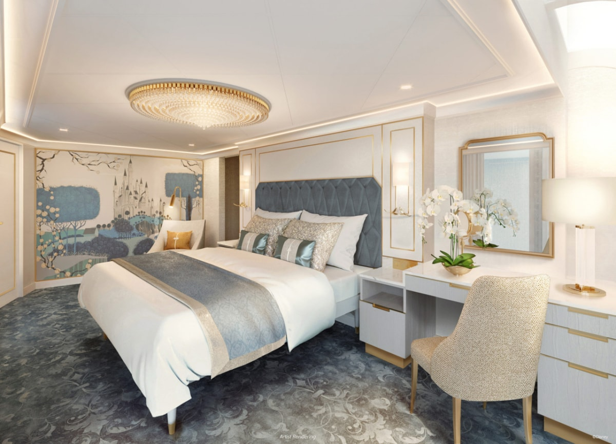 Royal Suite on the Disney Wish