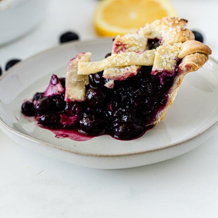 Easy Blueberry Pie Filling Recipe