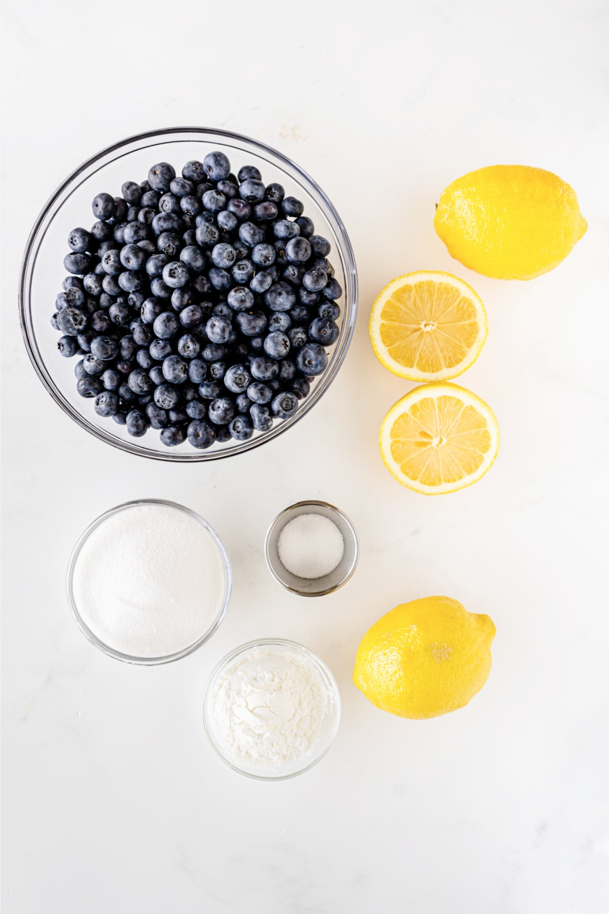 Blueberry filling ingredients