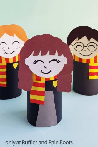 Harry Potter Toilet Paper Roll Crafts