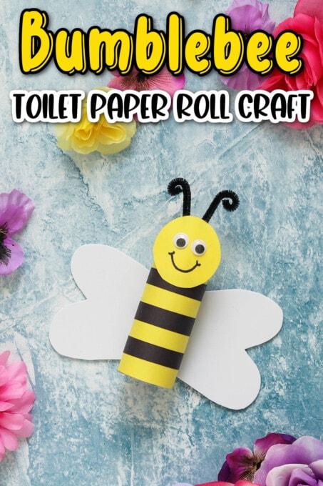 Bumblebee Toilet Paper Roll Craft