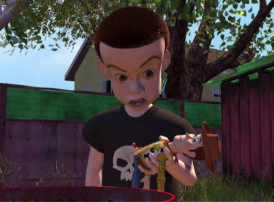 Sid Phillips from Toy Story