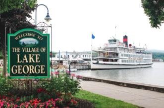 Sign in Lake George Village