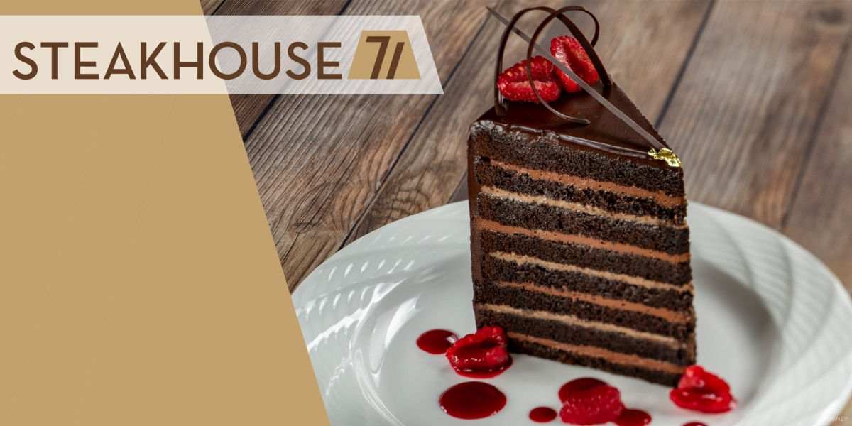 Picture of cake from Steakhouse 71