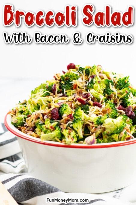 Broccoli Salad Pin 1