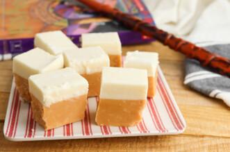 Butterbeer Fudge feature image
