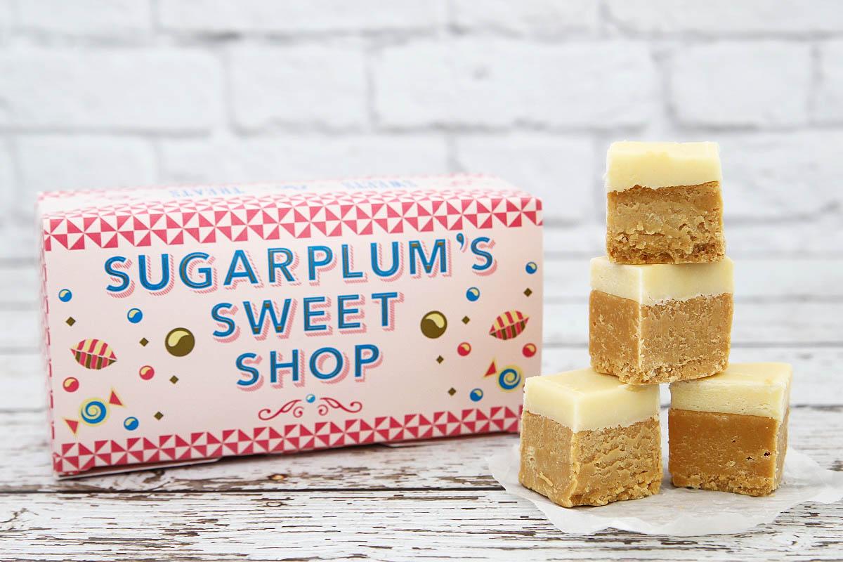 Butterbeer fudge from Sugarplum's