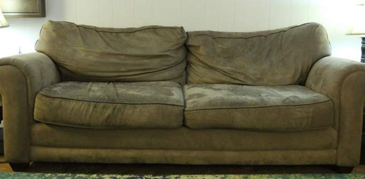 What is the best way to clean a microfiber sofa or couch  Many years ago a cleaning code system was developed as a guide  In this  code W stood for water based cleaners  such as upholstery shampoo
