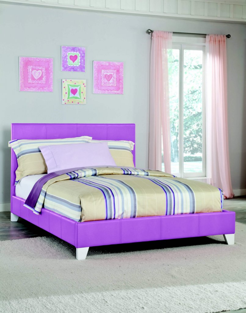 Kith Twin Purple Girls Bed Kids Beds