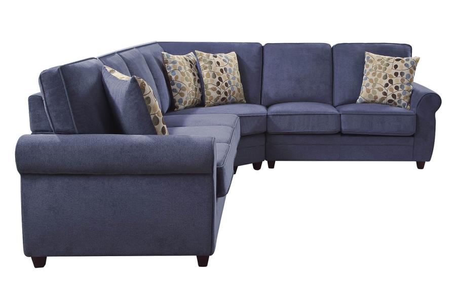 Fabric Sectional Sleeper Sofa