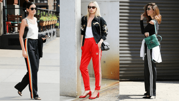 10 Street Style Photos to Show You Chic Ways to Wear Track Pants Fashion Header image fustany fashion style ideas how to wear tracksuits in  a chic way main image