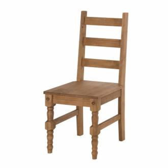 Jay Nature 2 Piece Solid Wood Dining Chair by Manhattan Comfort Jay Nature 2 Piece Solid Wood Dining Chair