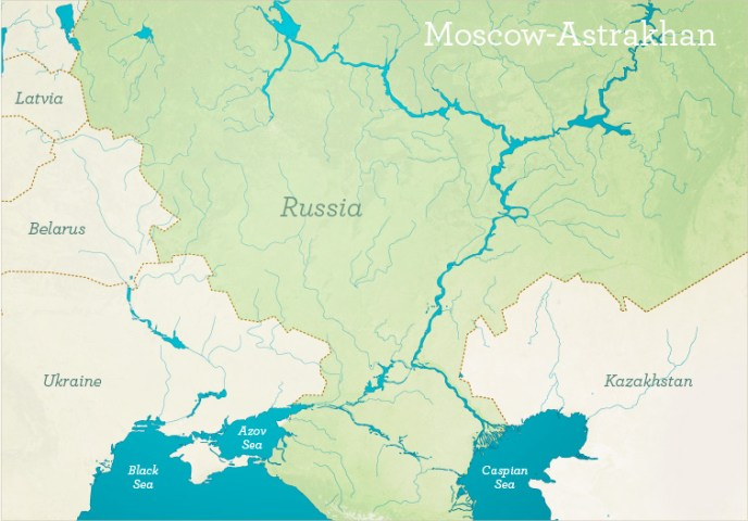 Map of europe and russia rivers The Geopolitics of Ukraine Future Economics