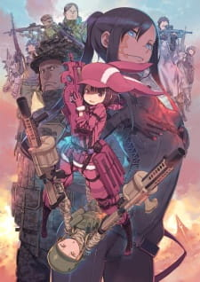 Sword Art Online Alternative Gun Gale Online Refrain Sub Indo