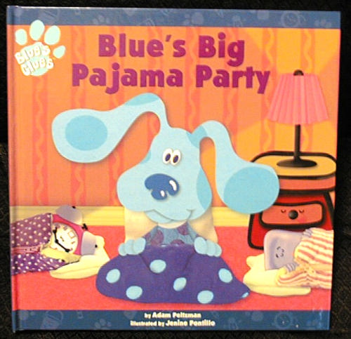 Blues Clues Pajama Party Book