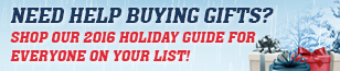 Need help buying gifts? Shop our gift guide to see our holiday deals