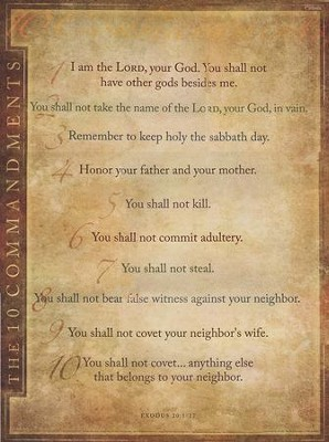 10 commandments # 6