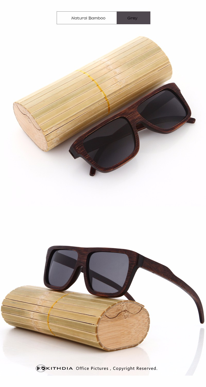 7be1b4cb62180 Ezreal 2017 جديد الخيزران نظارات الرجال نظارات شمسية ماركة مصمم المرأة مرآة  الخشب الأصلي oculos دي سول masculino