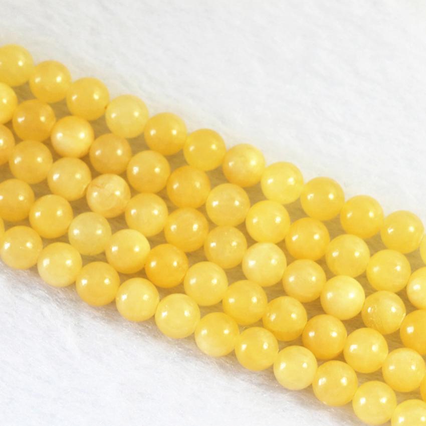 "Belle 8//10//12mm blanc naturel jade Gem Round Beads Stretch Bracelet 7.5/"""