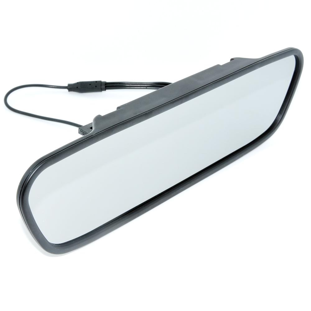 ⑧Alta resolução de 4.3 cor TFT LCD Retrovisor Do Carro Monitor ...