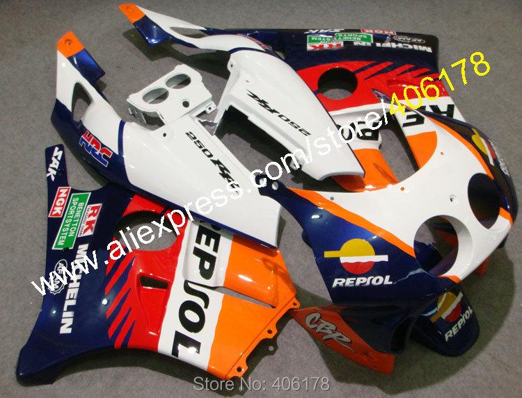 ღ ღventas Calientes Para Honda Cbr250rr Mc22 1990 1994 Cbr 250rr Cbr250 90 91 92 93 94 Repsol Moto Kit Del Carenado Del Abs Inyección W924