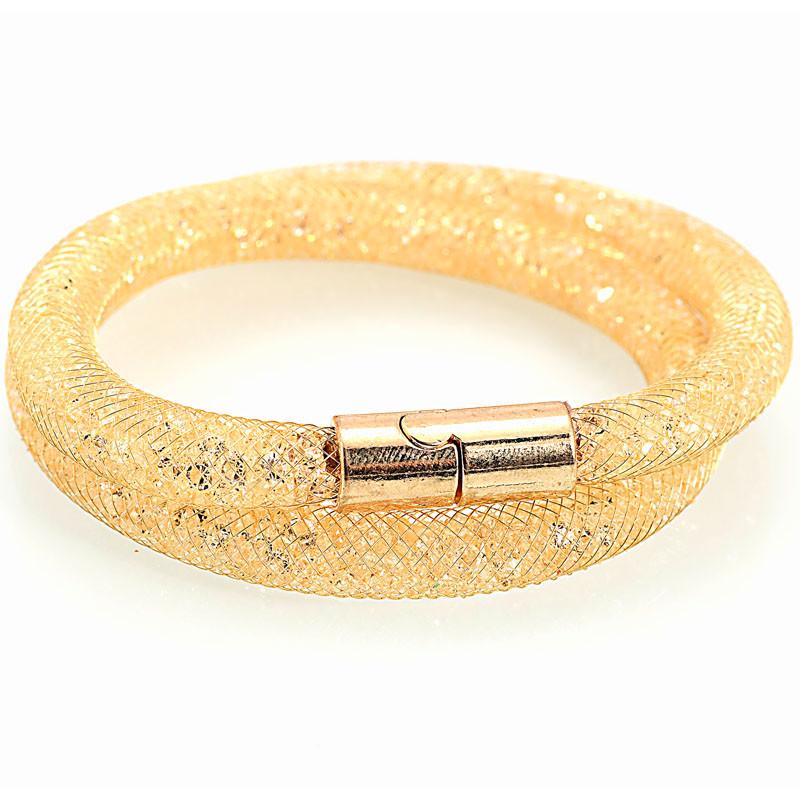 Diamantes de imitación de moda femeninas de nudo enlazado Brillante Imitación Perla Broche Pin caliente lindo vestido bufanda