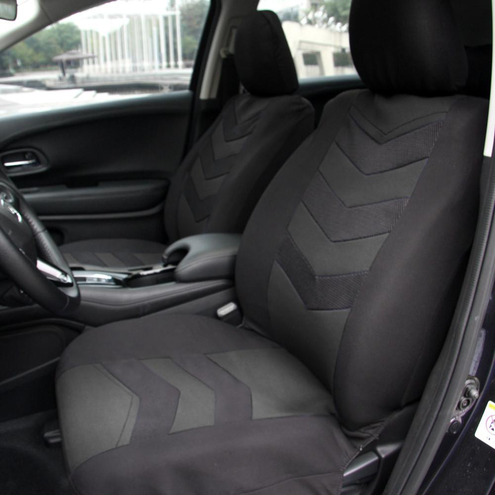 Cubiertas De Asiento De Coche Apto Opel Insignia-XR Negro//Gris Oscuro Estilo Deportivo