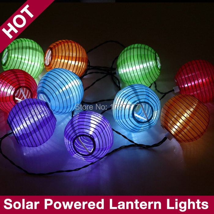 Chinese Lantern String Lights Outdoor