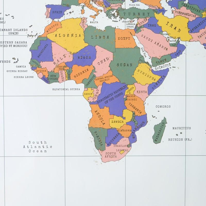 823d06d18 √الفاخرة طبعة أسود تصميم ديلوكس خدش خدش خريطة السفر خريطة العالم ...