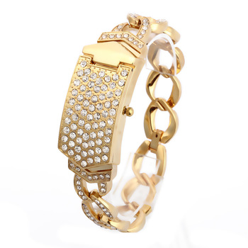 G&D Women Wristwatches Quartz Watch Relogio Feminino  Luxury Bracelet Dress Watch Saat Relojes Mujer Clock Female Gift Lady Gold