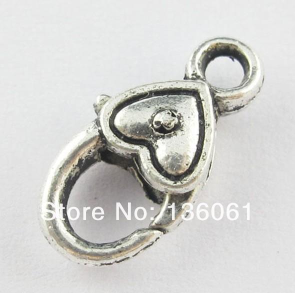 10X en acier inoxydable homard fermoir chaîne de bijoux trouver de l/'argent ZH