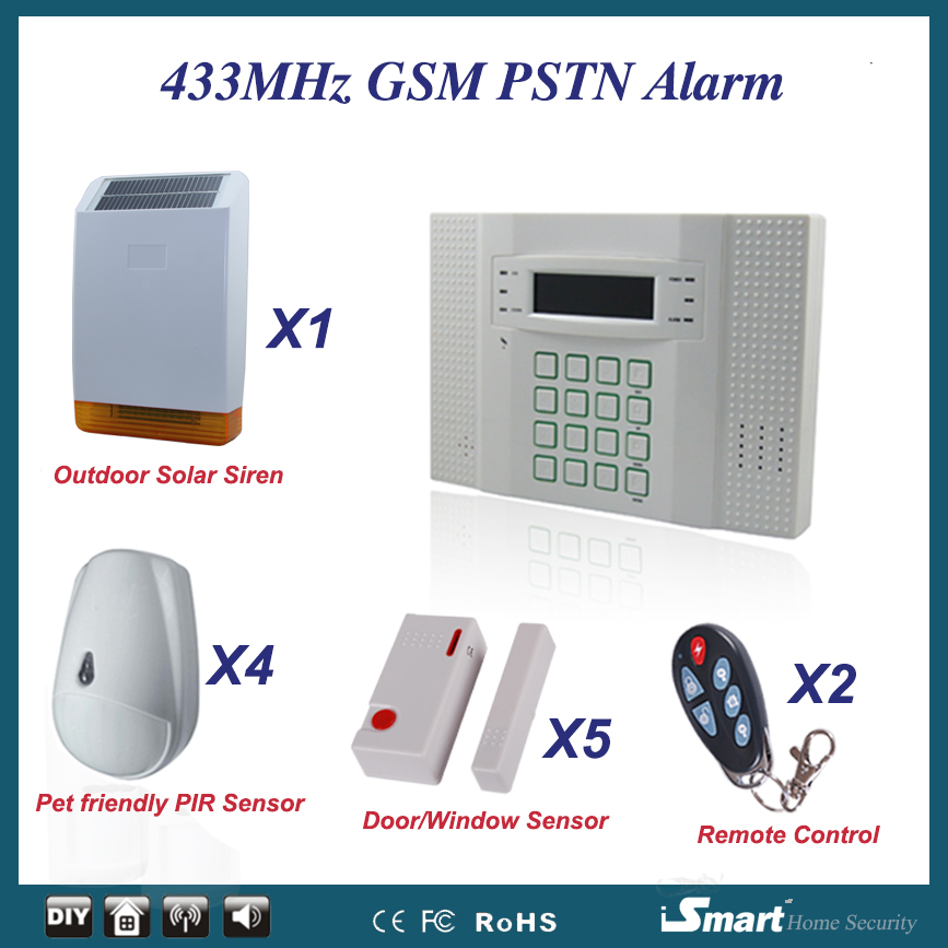 Wireless Alarm System Package