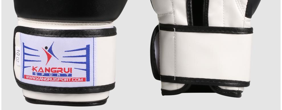 83776c5ff Nowy PU Rękawice Bokserskie Sandbag Walka MMA/Taekwondo/Muay  Thai/Walki/Pude De Luva Dorosłych Szkolenia tłoczenie Sparing Rękawice