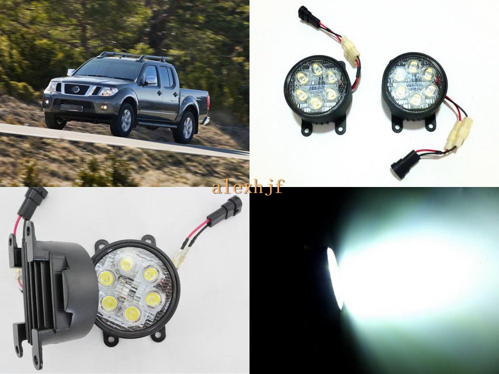 70 mm REDONDO DRL LED Luces De Circulación Diurna Delantero Spot Niebla Lámparas se ajusta Smart 2016