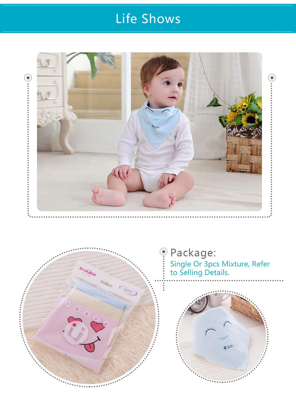 Bleu ou Rose-Super matériau souple Luxueux doux bébé Burp Cloth-Blanc