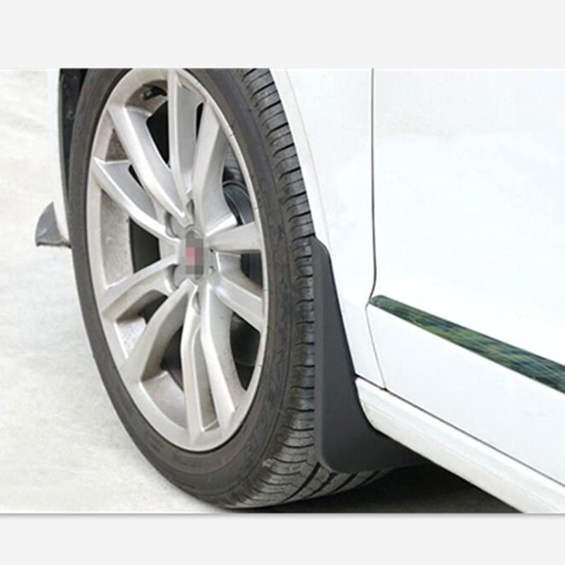 van bavettes garde-boues tous Noir ou Argenté bavette pinces aucun forage fixation de voiture