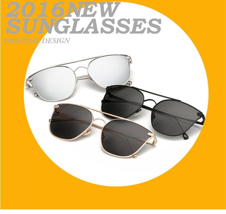 9e08852a2 ③VWKTUUN الفاخرة الذهب إطار النظارات الشمسية المرأة مرآة الظل ...