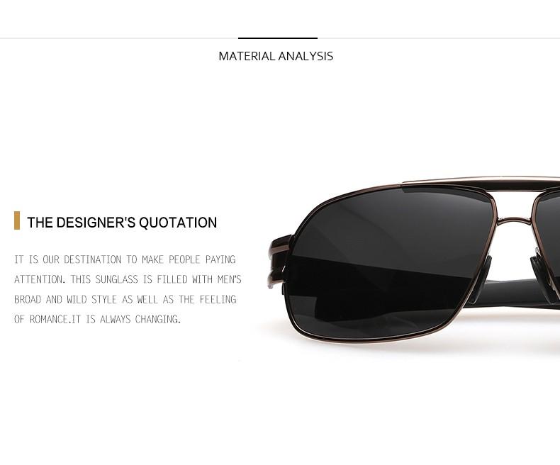 f901d1db9 شعبية الرجال الاستقطاب الشمسية العسكرية أفضل الأشعة فوق البنفسجية النظارات  الشمسية ل قيادة الشرطة سوبر بارد مكافحة وهج قناع نظارات للرجال .