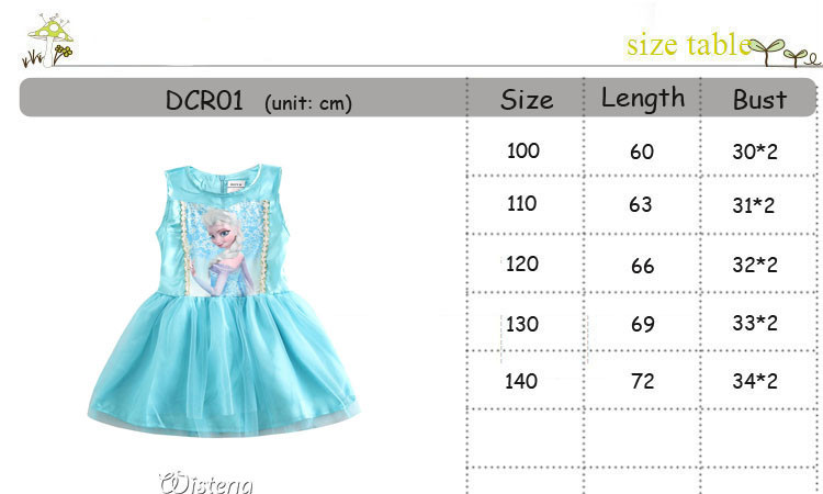 1d59eb0f7 ộ ộ ༽Vestido de princesa chico bebé vestido de niña para 2-10 años ...