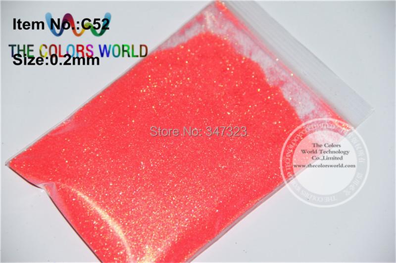 c53d0cbd775c8 ②TCR52 Shinning Rainbown Brzoskwiniowy Kolor Neon 0.2 MM Paznokci ...