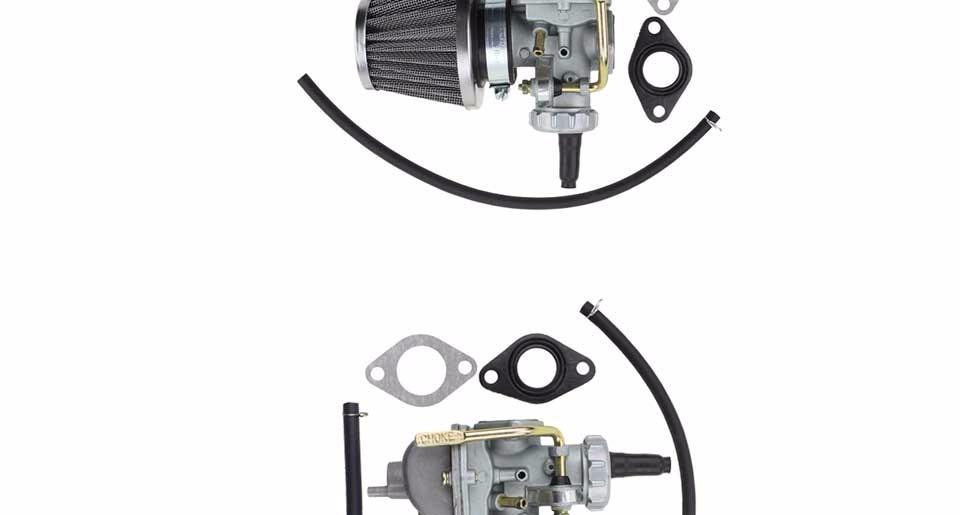 GOOFIT Carburateur pour Honda XR80 XR80R XR 80 Assembl/ée Carb w//Filtre /à air Filtre /à carburant