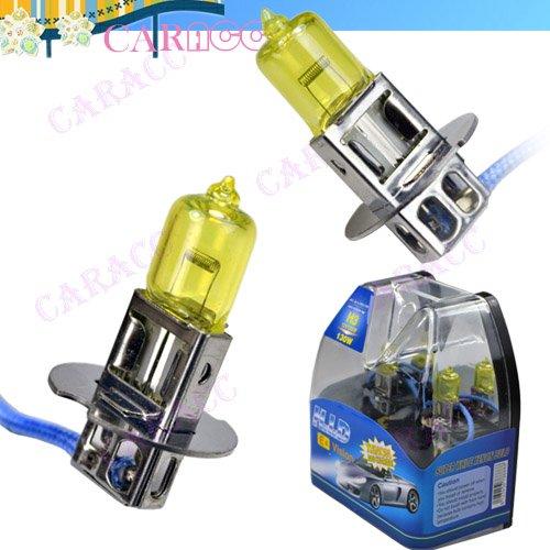 Yellow H3 Fog Light Bulbs