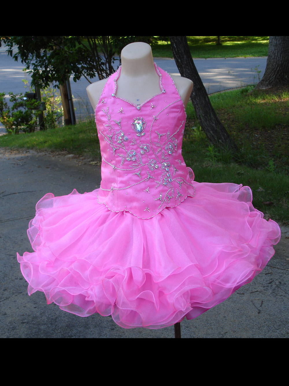 Royal Blue Wedding Dress Size 14 Girls