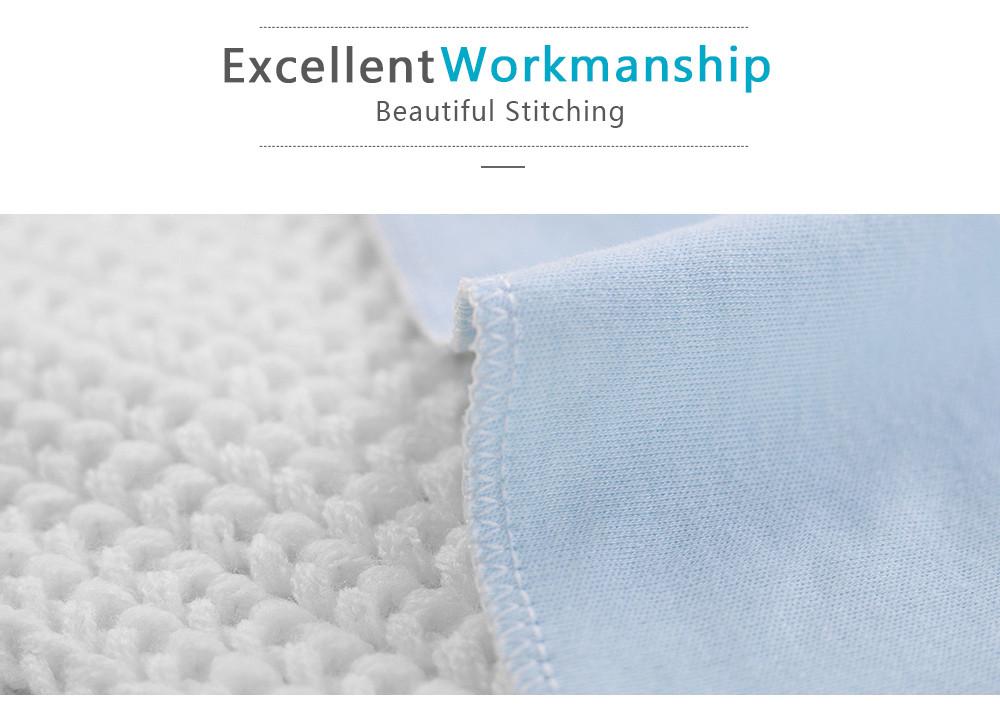 Fashionikon Couverture demmaillotage faite main 100/% pur coton avec n/œud pour b/éb/é 0-3 mois