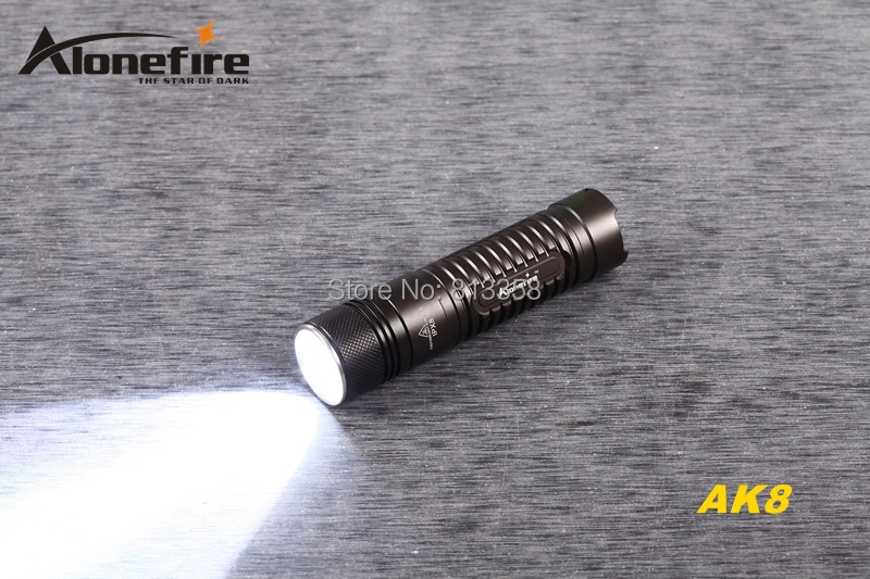 c739b26067a2e0 ᗑAloneFire AK8 CREE XM-L2 LED 3 mode HA III Militaire kwaliteit ...