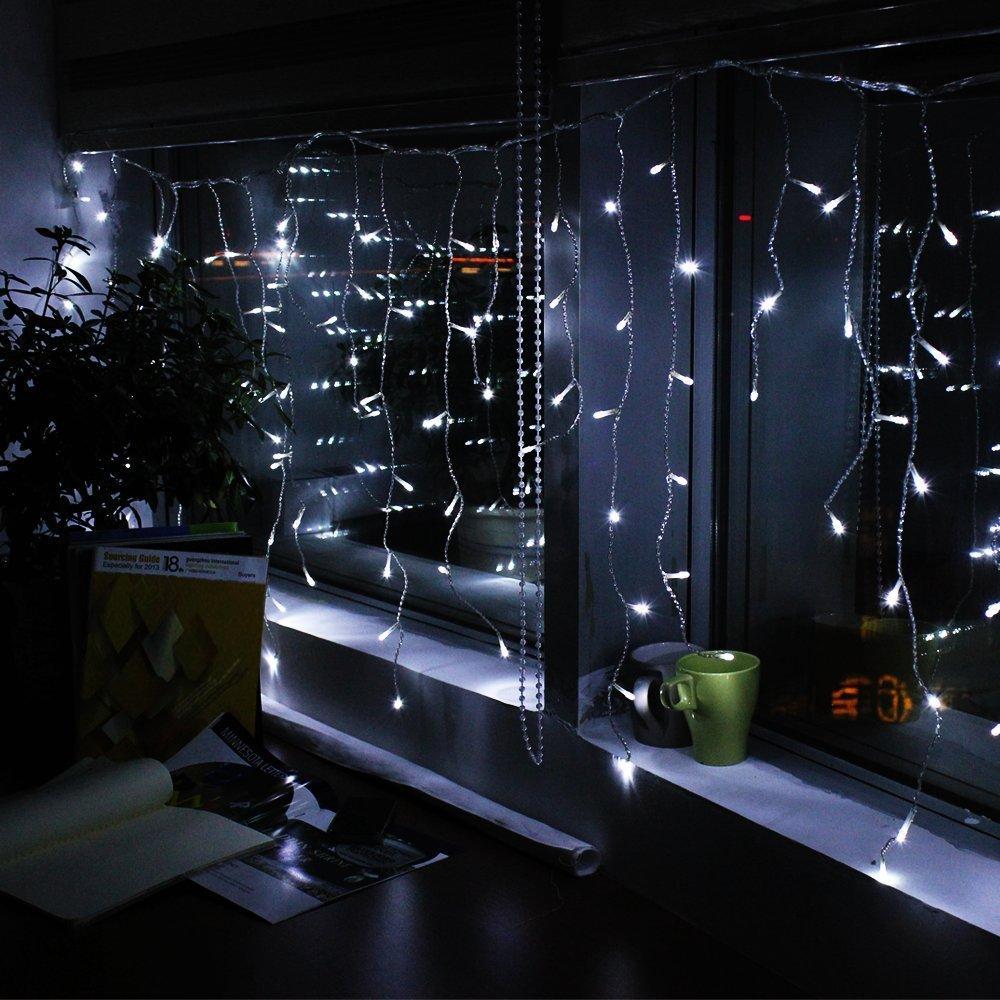 Led Christmas Lights Icicles
