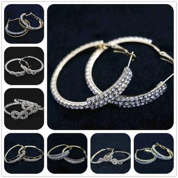 Vintage Cristal Gemme Creux Sculpté Palm Crown Doigt Anneau Set Party Jewelry