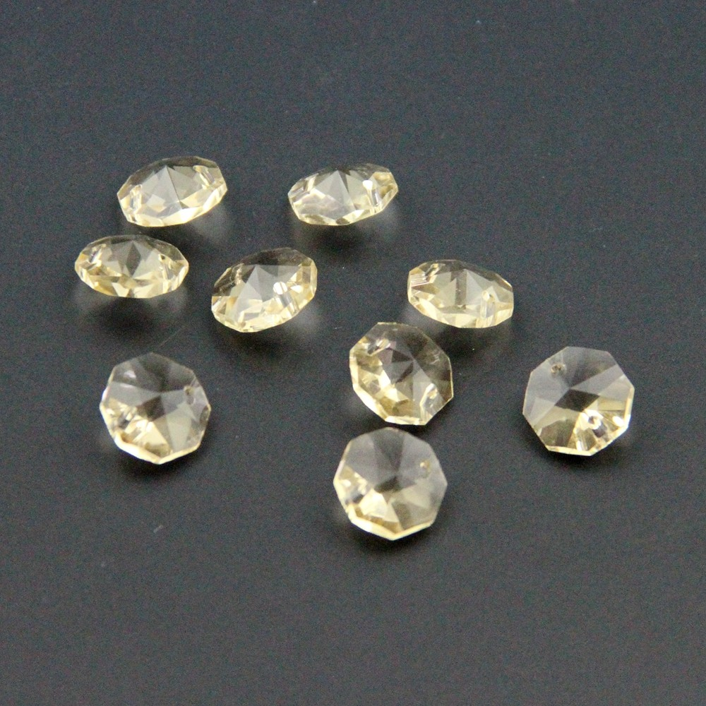 lot  300 perle ancienne en verre couleur ambre miel topaze clair  8.5 x 4 mm
